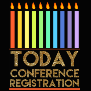 Conference registration today